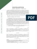 A Randomized Algorithm for Principal Component Analysis