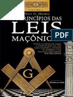 Os Principios Das Leis Maconicas Volume i Albert g Mackey
