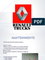 Inspecciones Diarias Renault