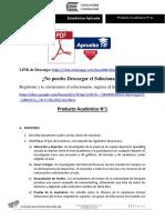 Producto Académico N° 01 - ESTADÍSTICA APLICADA