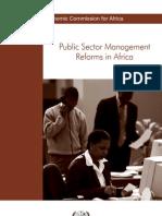 Public Sector Mangt