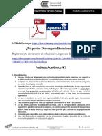Producto Académico 01 - INNOVACIÓN Y GESTIÓN TECNOLÓGICA