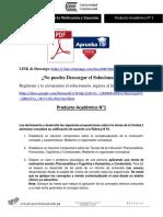 Producto Académico N° 1-PSICOLOGÍA DE LA MOTIVACIÓN Y EMOCIÓN