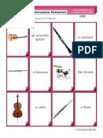 Kids Instruments Pelmanism