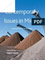 Contemporary Issues in Mining Leading Practice in Australia