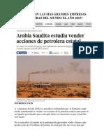 Cuales Son Las Mas Grandes Empresas Petroleras Del Mundo El Año 2015