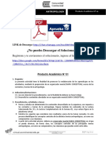 Producto Académico 01 - ANTROPOLOGIA