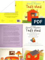 Usborne Phonics Readers 8 Ted s Shed