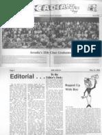 Arcadian Vol 24 No 8 - May 21, 1984