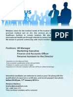 Medplus Recruitment 2019