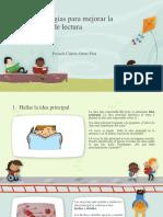 12 Estrategias de Comprensión de Lectura