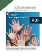 Qué Es La Participación Ciudadana