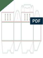 Modelo Caixa 2 - Medidas 21x12x12