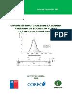 Libro_Grados Estructurales de La Madera Aserrada de Eucaliptus Nitens Clasificada Visualmaente