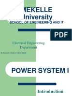 Power System I Lect 1
