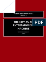 The city as entertainmet machine.pdf