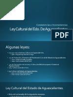 Ley cultura Aguascalientes