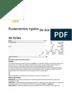 2skf-Rod Rig Dos Hileras Bolas