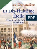 La Dix Huiti Me Etoile Histoire de La Louisiane Am Ricaine