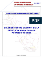 Estudio de Puyango Tumbes