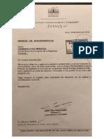 Fuerza Popular acepta la renuncia de Daniel Salaverry