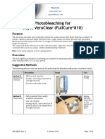 Objet Eden Application Guide - Photobleaching VeroClear
