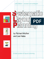 Systematic Layout Planning - Richard Muther