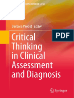 (Essential Clinical Social Work Series) Barbara Probst (Eds.) - Critical Thinking in Clinical Assessment and Diagnosis-Springer International Publishing (2015)