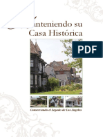 Historic Rehabilitation Guidelines (Spanish)
