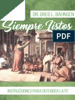 BAHNSEN; Greg L. - Siempre Listos
