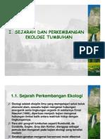 Bio442 Sap Sejarah Dan an Ekologi Tumbuhan