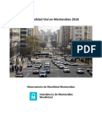 Informe Siniestralidad Vial Montevideo 2018