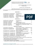 Structura an universitar unmb 2018-2019