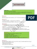 Cours - Math - Arithmétique - Bac Informatique (2015-2016) Mr Salah Hannachi.pdf