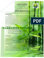 Narrative Report SLAC