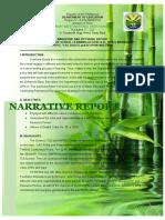 Narrative Report SLAC