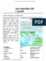 Tsunami No Estreito de Sunda Em 2018 – Wikipédia, A Enciclopédia Livre