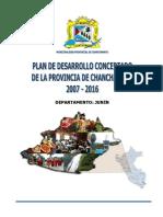 Pdc Chanchamayo 2007-2016