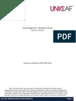 Final Assignment - Develop an Essay