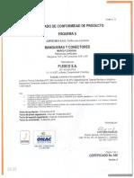 Flexco - Certficado - Ntc 3561 - 2017