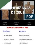 3.- Las Hermanas de Zeus