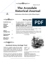 Avondale Historical Journal Vol. 1 Issue 4