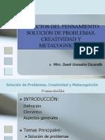 4 Solución de Problemas, Creatividad y Metacognición