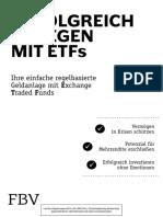 Erfolgreich Anlegen Mit ETFs