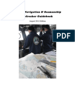 84172468 Coast Guard Bridge Navigation Refresher Guidebook August 2011 Edition
