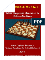 7 Ideas Con Piezas Blancas en La Defensa Siciliana.