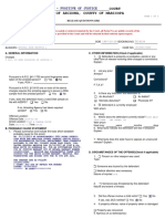 Krystal Whipple Release Questionnaire