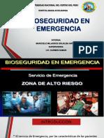 Bioseguridad en Emergencia