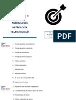 NEUMOLOGÍA - NEFROLOGÍA - REUMATOLOGÍA