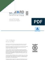 Upward B Corp Report 2018